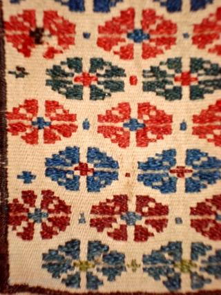 1163 Shahsavan bag (0.54x0.19m) about 1900, narural colourd.perfact condition.