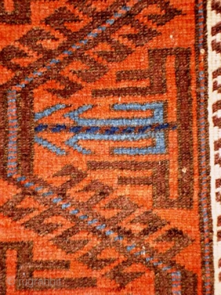 Beludj 1.82x0.84m,2nd half 19th cent.,natural dyes,good conditon.