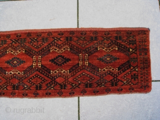 Antique Ersari Beshir large torba from mid Amu Darya region.