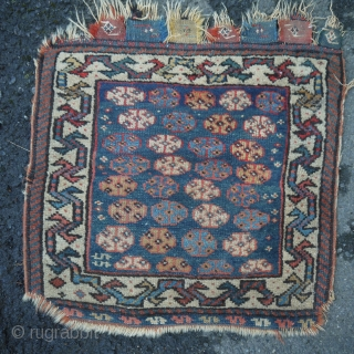 SW persian - nice medium blue field, even wear, slight dog eared corners. Needs bath.  $165/Best Offer