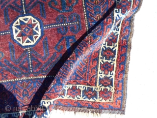 Baloch or Baluch Bag face. Has a little age Nice color and drawing 30X26inch