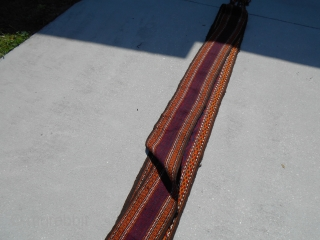9.5X550inch Afghan Tent Band .8X45ft Price is PayPal Shipping lower 48 USA