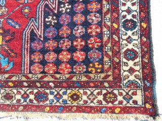 50X74.5inch  Semi Antique Malayer  4.2X6.3ft Good color Cleaned/washed Pile is very good one small semi low spot