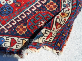 26X20inch  Khamseh bag face, southwest Persia Nice saturated colors Good pile A few border issues. PayPal Cash Shipping USA lower 48 only