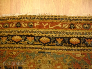 8' x 11' - c.1880 - Haji Jalili Tabriz - ***Soft***