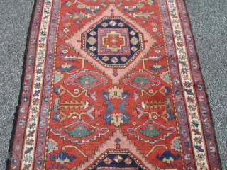 Superb 19th Century North-West Persian Runner - 3' 5'' x 14' 8'' - Tremendous color.  Great condition.  Great pile.  No repairs.