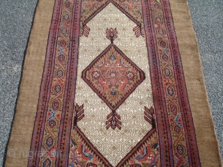 Most Impressive Camel Hair Runner - Just came out from storage after three quarters of a century.  Fantastic condition.  Amazing color.