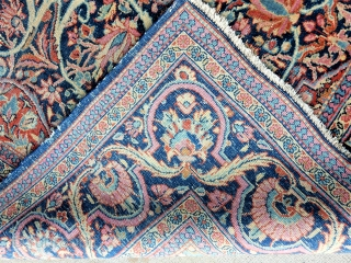 4 12/ x 6 1/2 ft kashan 
