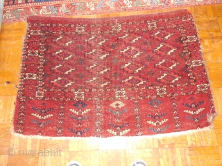 TEKKE CHUVAL WITH SOME AGE   SLIGHT  CENTER WEAR  ORIGINAL CONDITION  SIMILAR DESIGN TO THOMPSON SALE LOT#9