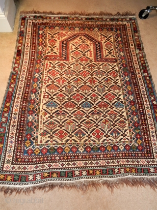 MARASALI SHIRVAN - ALL ORIGINAL AND COMPLETE WITH THE BRAIDED ENDS AND GOOD SIDES-