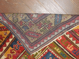 LARGE SIZE FACHRALO KAZAK PRAYER RUG WITH  FULL PILE!