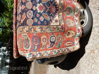 COME AND SEE SOME NICE RUGS AT THE NEW ENGLAND RUG SOCIETY SPRING PICNIC -TOMORROW MAY 21ST AT NOON IN WALTHAM MASS-- AT THE BOYLSTON ASSOCIATES RUG TRUCK......