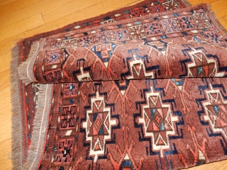 FULL PILE TURKOMAN TORBA -LOOK AT THE PHOTOS PLEASE 