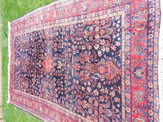 Sarouk Carpet, excellent,  condition  8 ft  13 ft