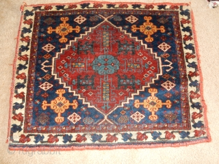 $850 ,,,SELLING OLD WEAVINGS ALL WITH EXCELLENT + PILE -  FINE OLD GASHGAI BAG IN FULL PILE - 850$ ....   - AND A FINE TEKKE CHUVAL  $600 -   ...