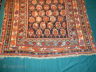 GREAT LOOKING MARASALI SHIRVAN PRAYER RUG - EXCELLENT PILE - 