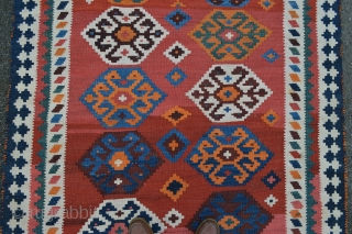 "Qashqa'i kilim early 20th century - in excellent condition - 2.90m x 1.52m (9'6"" x 5' 0"")."