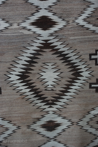 "Navajo Flatweave 2.16m x 1.30m (7' 1"" x 4' 3"") - Excellent condition."