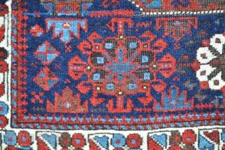 Large Timuri bag-face - wonderful saturated natural colours.