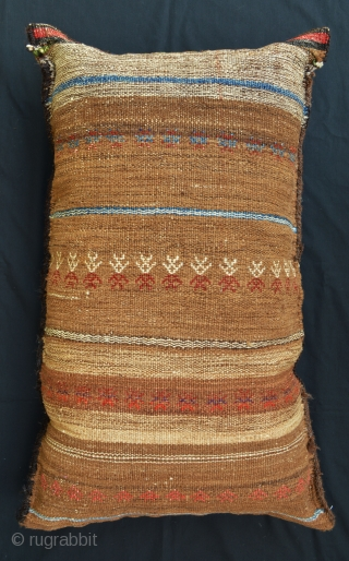 Beautiful balisht (pillow-bag) made by the Baluch of Sistan circa 1900.