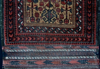 Early Yaqoub-Khani prayer-rug - going for a song!