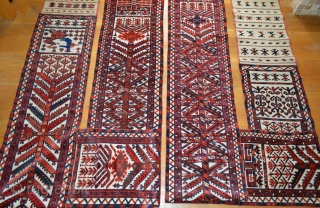 Yomut Turkmen Tent-Band - end 19th century - complete and in excellent condition.