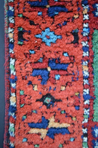 """Yuruk rug 2.00m x 0.92m (6' 7"""" x 3' 0"""") in full, lustrous, silky woollen pile. Minor repairs only to the selvedges and ends secured. Please request more information if required."""