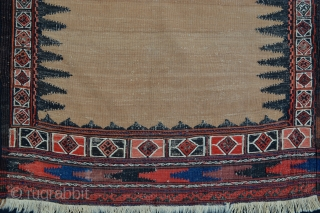 Baluch Dining Sofreh with natural camel-hair field.