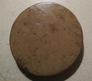 Old Shi'ia Praying Tablet (Turba).Najaf or Karbala. 10 cms x 1.5 cms.