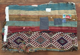 Two wonderful original Anatolian cuvals or storage bags. Good for a museum, exhibition, collector, show. Second half 19th century. Natural saturated colors. Untouched in the very original state. All patches outside &  ...