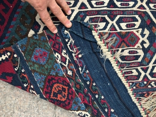 Malatya bag. Cm 80x300 ca. Wonderful natural saturated colors. Just got it. It's under wash now. Collectors item. Not to miss.