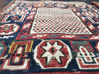 Khyzy village brothers. Magic Azerbaijan. Two small wonderful sumack jewels. Stars and diamonds in 1001 nights,  dragons in a whirl of snow and carnations. Rare and beautiful. See each of them  ...