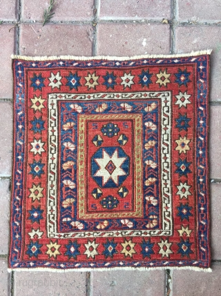 Star Sumack bag Kuba area, Khyzy village. End 19th c. Rare and beautiful. Super colors, great condition.