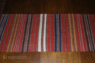 SHAHSAVAN CICM STRIP. CM 194X40. BEAUTIFUL, VERY FINE weave, IN GREAT CONDITION.