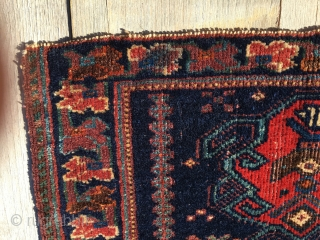Afshar pile bag face. Cm 33x50. End 19th c. All natural dyes. Lovely, small & beautiful. Outstanding piece. Ex collection BF. Pls see the rest: http://rugrabbit.com/profile/580