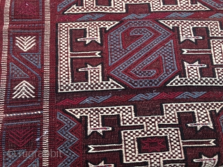 Bergama area cicim rug. Cm 155x215. Vintage. Beautiful, in great condition. Fantastic workmanship. Reasonably priced: € 390 + € 60 UPS EU/USA