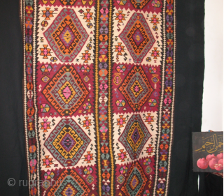 Eastern Anatolia, Kars area kilim, cm 430x150, beautiful, long piece, early 20th century, in good condition. Unbeatable price: 500$ plus shipping.