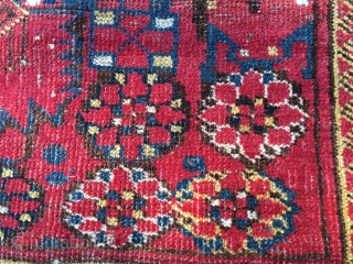Beshir rug. Cm 110x215. End 19th c. Good colors. Good cond.  Ref: Bsh/3
