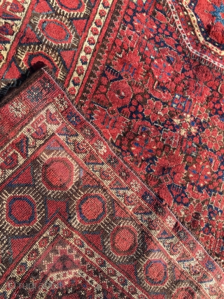 Beshir rug. Cm 130x280 ca. Late 19th century. Good condition. Full pile. Minor restorations. Ask for more infos & pics