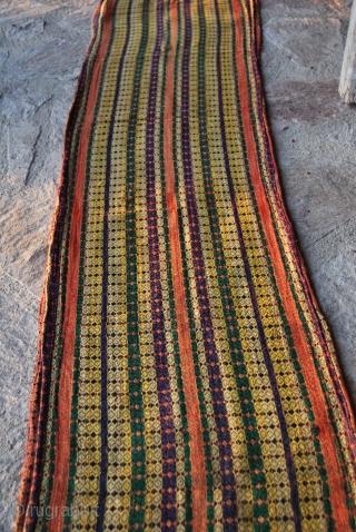 Uzbekh vintage handloom woven shawl - cm 42x420 more pics here: http://www.facebook.com/media/set/?set=a.10150252111679258.368324.358259864257