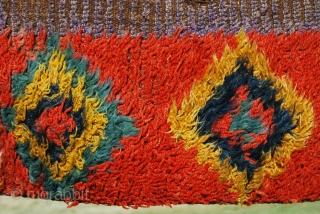 Julkhyr strips. Uzbekistan. Cm 26x186. Early 20th c. More pics here: http://www.facebook.com/media/set/?set=a.10150253913844258.368994.358259864257