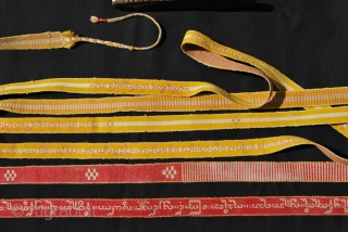 Sazigyo. Woven words from Burma/Myanmar.