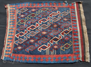 Shahsavan kilim khorjin face. Cm 46x68. Good age, not bad condition.
