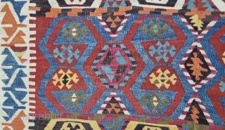 Konya, cm 150x380 ca. 1840/1860sh. In great condition.