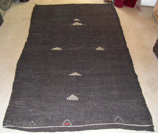 Kil Cul or Goat wool Kilim – cm 280x145 ca. or ft 9.1x4.7 - mid or early 20th century -Many more available in different sizes. Real tribal pieces, eneven, sometimes bumpy, of  ...