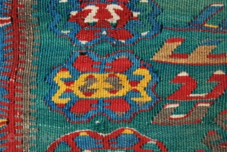 Western Anatolia prayer kilim. Cm 110x155. Early 20th century. Good condition despite a few moth bites and minor old restorations. Would make any collector or restorer very happy…. Pics shot in full  ...
