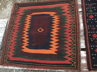 2 beautiful Bakhtiari sofreh. Cm 120x120 ca. 1920/1930 probably. In very good condition. And not expensive.