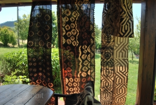 Bakuba Raffia Textiles. Congo. From Early to mid 20th century. Collection, wonderful, long pieces. If interested please inquire.