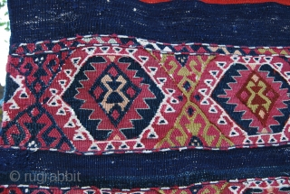 Southeastern Anatolia open cuval. Cm 94x136. Beautiful, colorful, in good condition, as per pics. See more pics on Facebook:  https://www.facebook.com/media/set/?set=a.10151810382244258.1073741876.358259864257&type=1