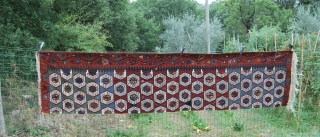 Aksaray kilim. Antique, beautiful, wonderful dyes, good cond. More pics & news on rq.